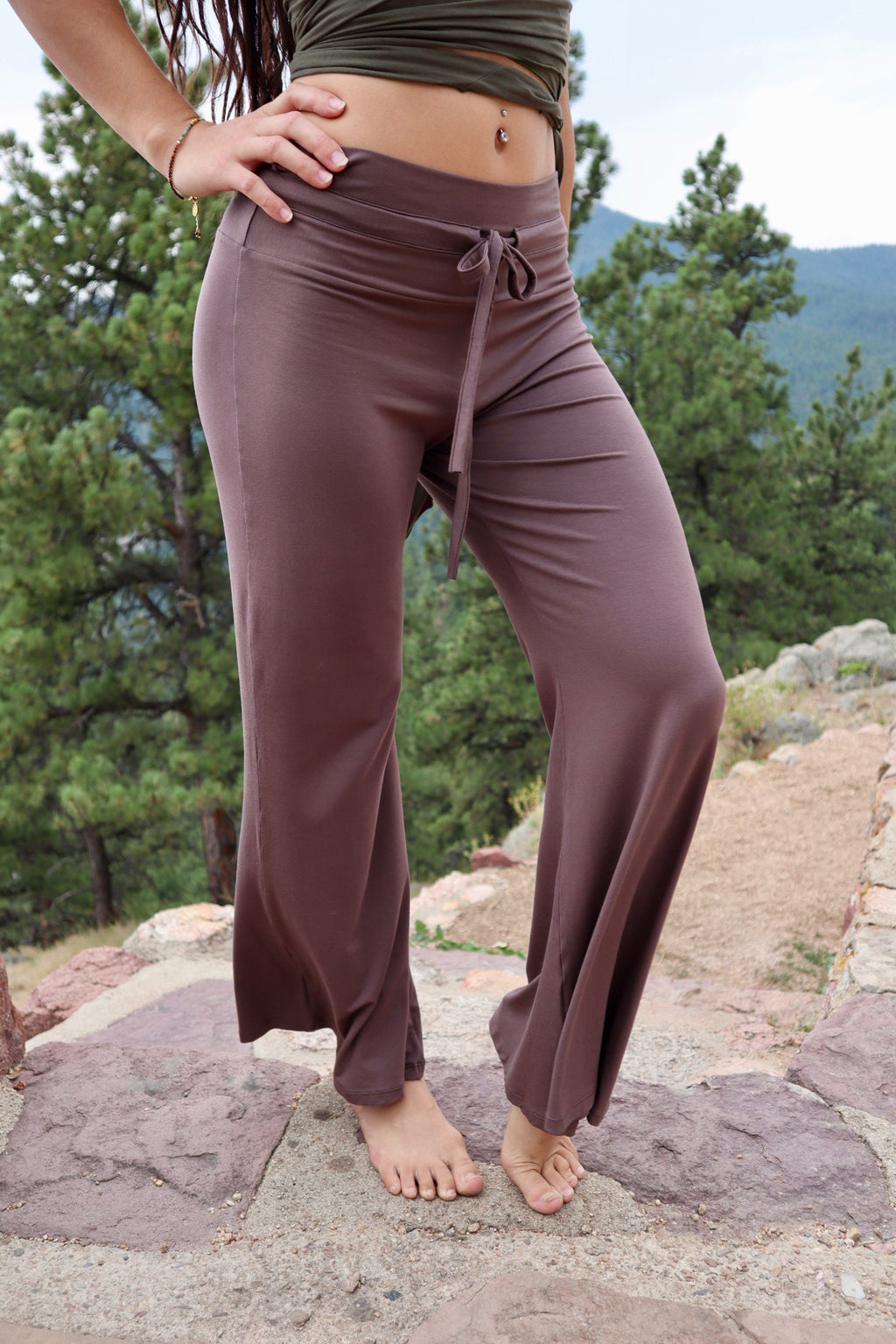 Travel Pants - Charcoal Brown - Filosophy