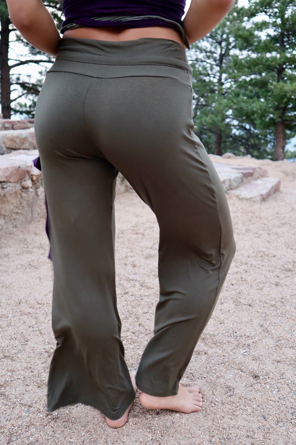 Travel Pants - Army Green
