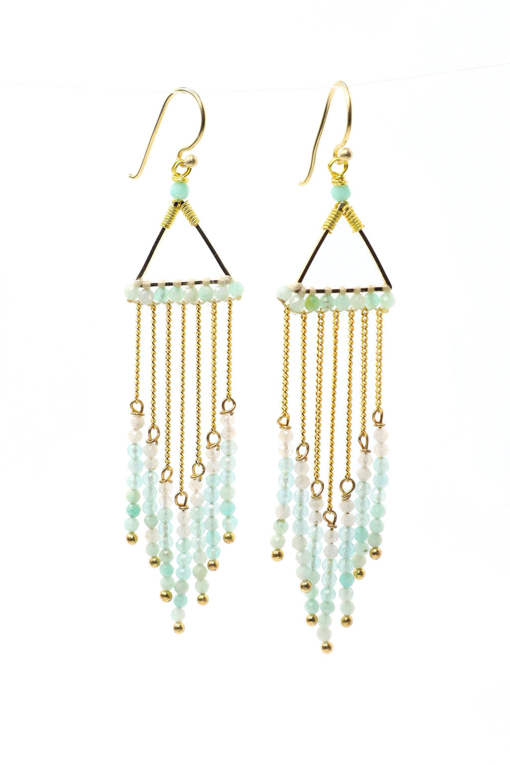 Celeste Earrings - Light Blue