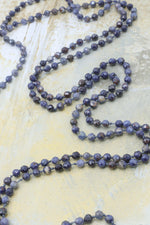 Knotted Necklace - Sodalite