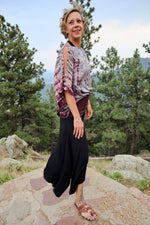 Wide Leg Dance Pants - Black - Filosophy