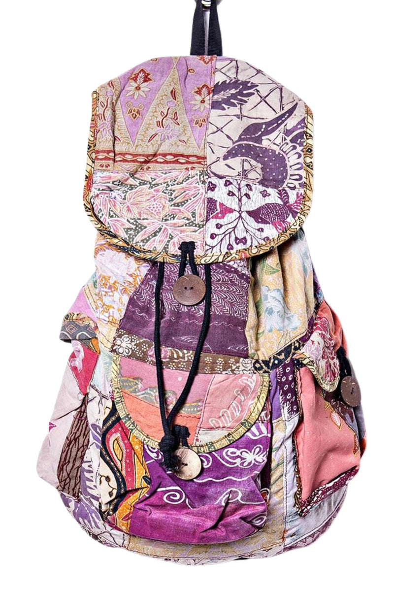 Boho Patchwork Backpack