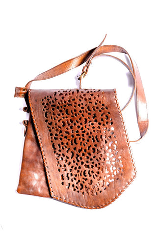 Hand Carved Leather Purse - Filosophy
