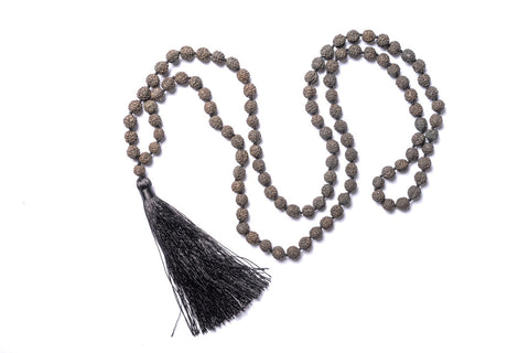 Lava Stone Mala Necklace - Filosophy