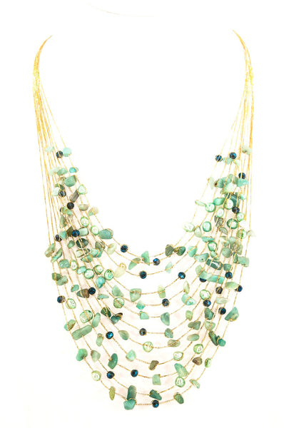 Athena Stone Necklace - Filosophy