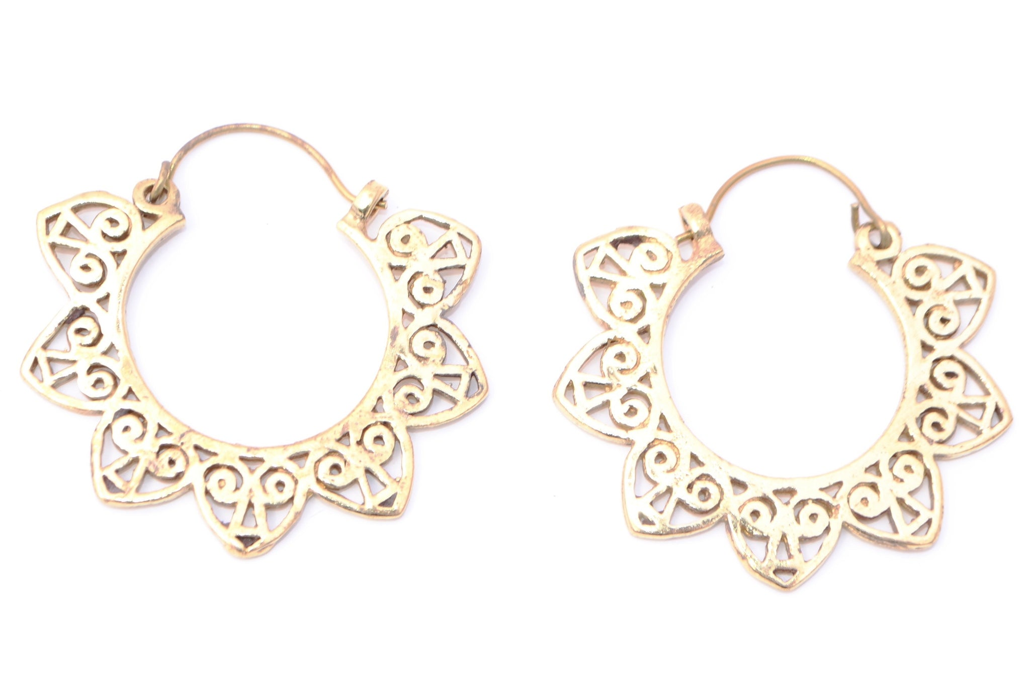 Sun Tribal Earrings - Filosophy