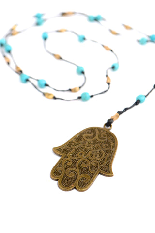 Hamsa Pendant Necklace - Filosophy