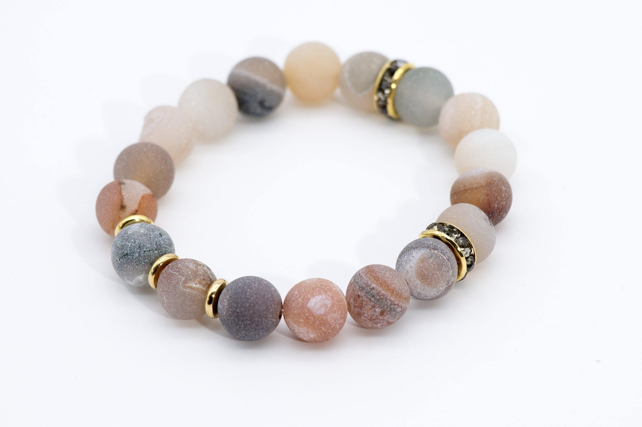 Druzy Stretch Bracelet Natural Color - Filosophy