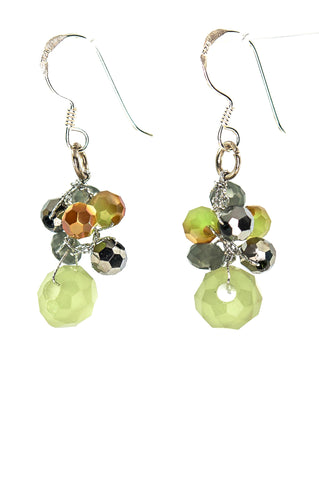 Filosophy jewelry store makes gemstone handmade jewelry.  Peridot jewelry.