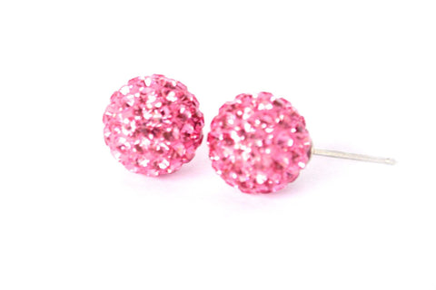 Crystal Stud Earrings - Filosophy