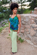 Basic Flair Pants - Eco Green - Filosophy