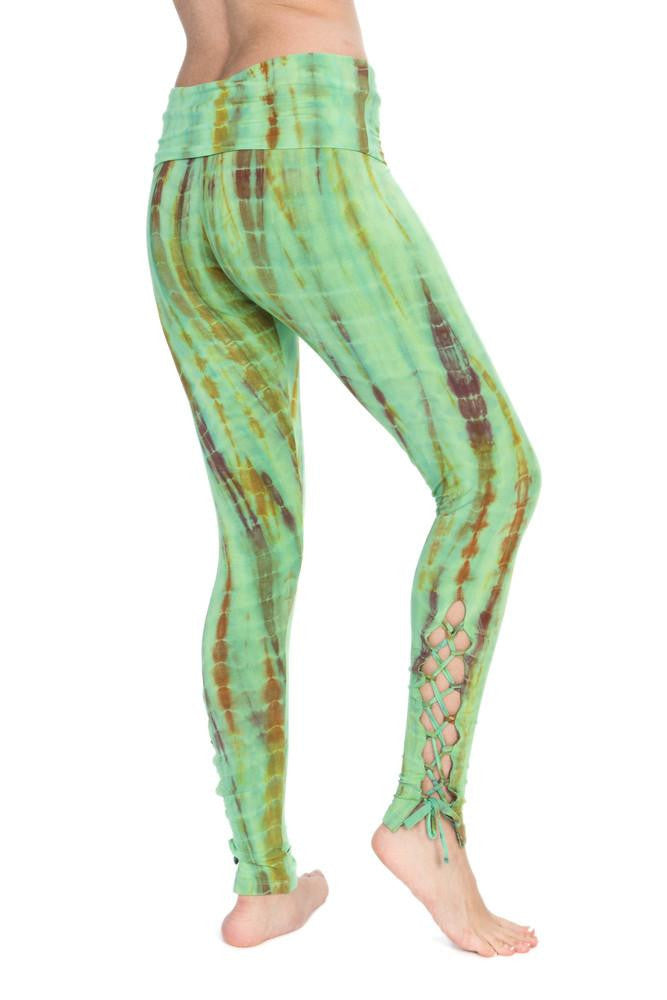 Half Length Woven Leggings with Tie - Filosophy