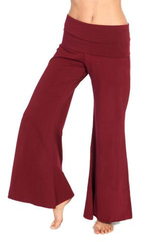 Basic Flair Pants - Dark Red - Filosophy
