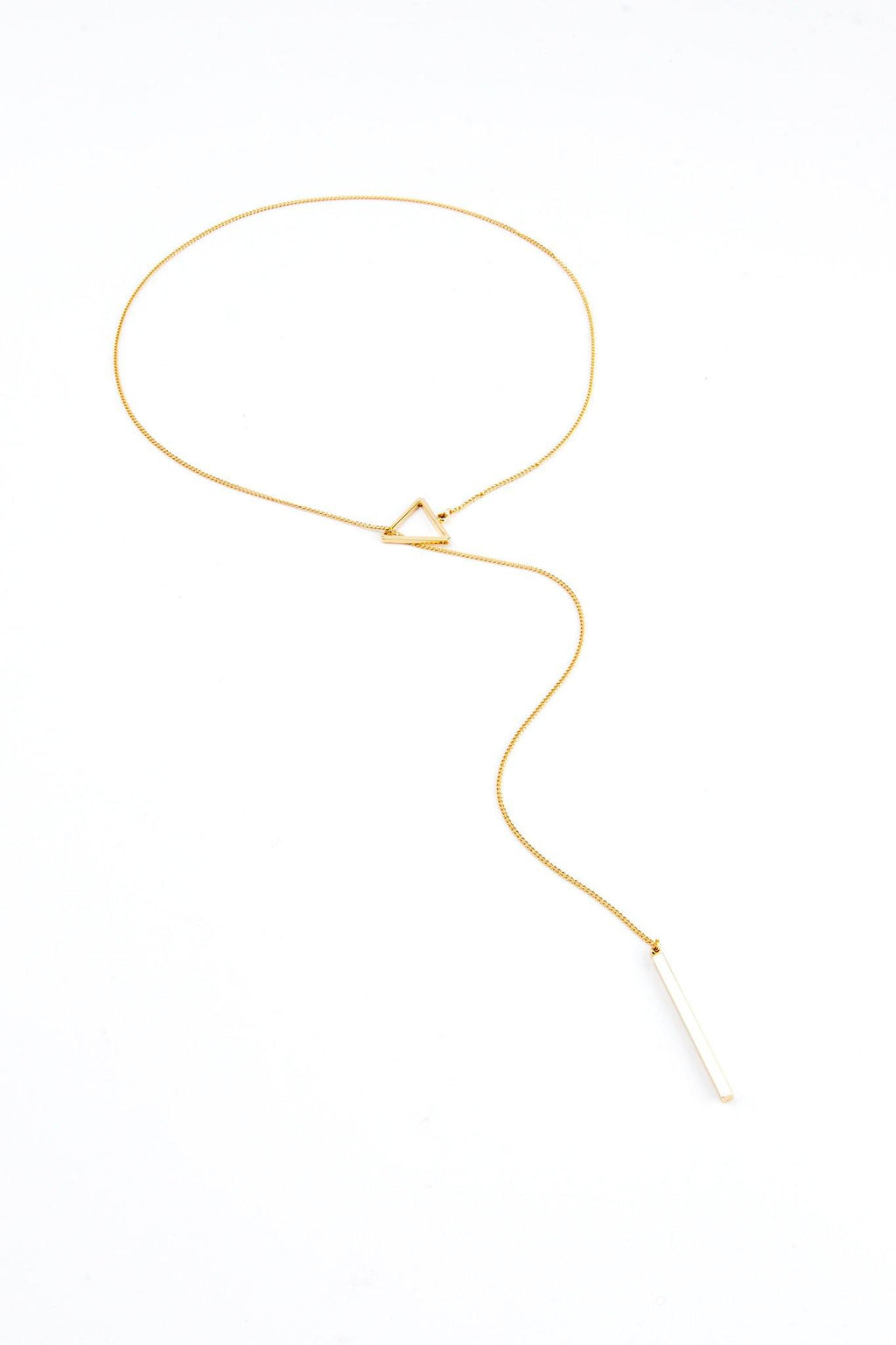 Lariat Triangle - Gold - Filosophy
