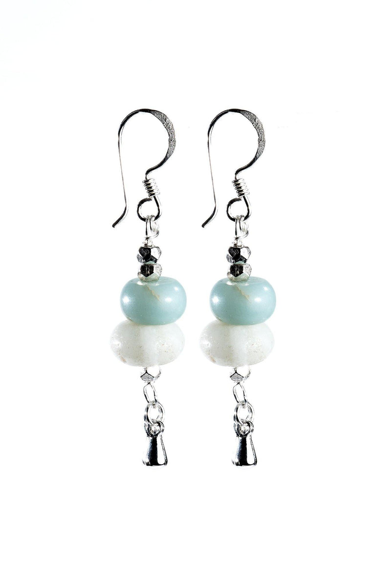Nina Earrings - Amazonite