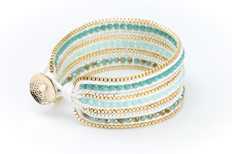 Valerie Bracelet Turquoise | Light Blue - Filosophy