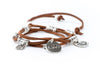 Leather Charm Bracelet - Filosophy