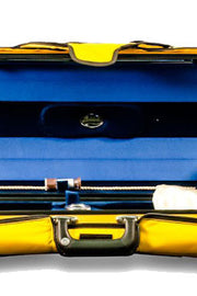 Bobelock 1060 Oblong Suspension Violin Case - Yellow Interior