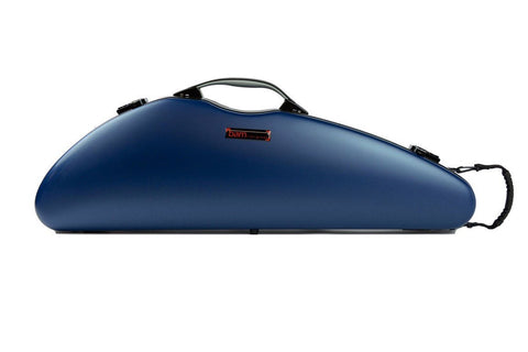 BAM France HIGHTECH Slim Violin Case Navy Blue 2000xlb front