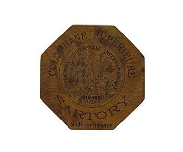 Sartory rosin for violin, viola & cello in wooden box