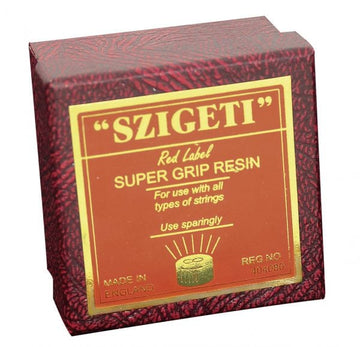 Szigeti, from England rosin