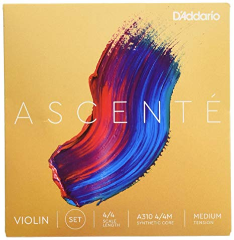 Ascenté Violin A String, 4/4, Medium Tension. Aluminum wound.