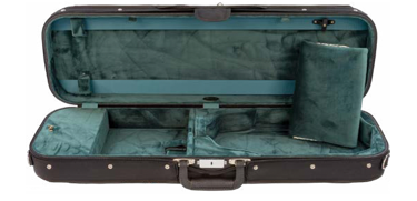 Howard Core Wooden Oblong Violin Case w/Suspension (B1002LS)