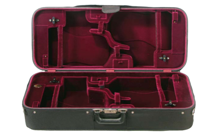Howard Core 1040 Quadruple Violin Case (B5-1040V)