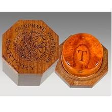 Sartory rosin for violin, viola, & cello in wooden box