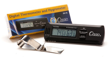 Oasis Digital Thermometer & Hygrometer
