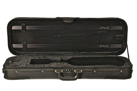 Howard Core Economical Oblong Violin Case CC399OBL Interior