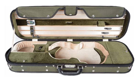 Howard Core Wood-shell Violin Case (CC535)
