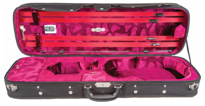 Howard Core Wood Shell Violin Case (CC540)
