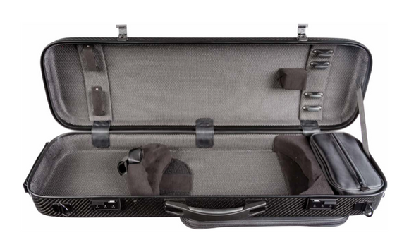 Howard Core Carbon Weave Violin Case (CC815)