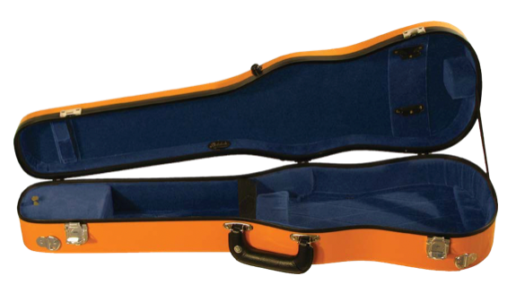 Fiberglass Shaped Suspension Violin Case (B1007FBLS)