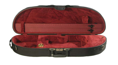 Howard Core Wooden Half-Moon Suspension Violin Case (B1047LS)