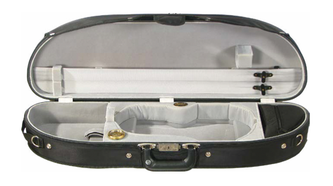 Howard Core Puffy Sport Half-Moon Suspension Violin Case (B1047PSLS)