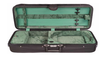 Howard Core Featherlite Oblong Suspension Violin Case (B1003FALS)