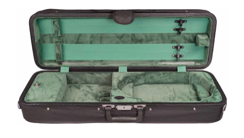 Howard Core Featherlite Oblong Suspension Violin Case (B1003FAVS)