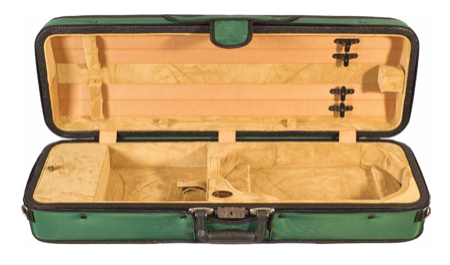 Howard Core Featherlite Puffy Oblong Suspension Violin Case (B1003FAPS)