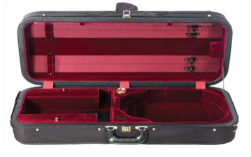 Howard Core Featherlite Oblong Suspension Viola Case (B2005FALS-A)