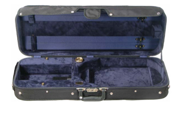 Howard Core Wooden Oblong Suspension Viola Case (B2005LS-A)