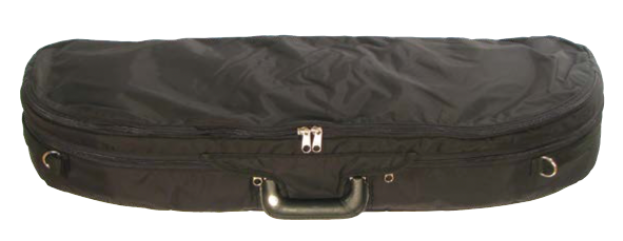 Howard Core Fiberglass Half Moon Suspension Viola Case (B2048FBVS-A)