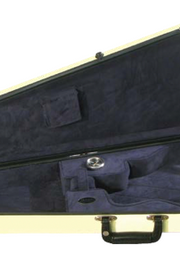 Howard Core 1029 Fiberglass Arrow Mandolin Case (B6-1029FBL)