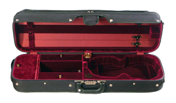Howard Core Hill Style Professional Oblong Suspension Violin Case (B1017VS)