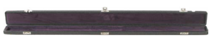 Black Vinyl 3 Bow Case (B8-3BB)