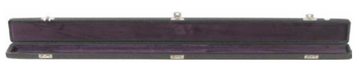 Black Vinyl Single Bow Case (B8-1BBV)