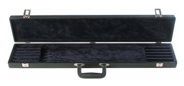 Black Vinyl 12 Bow Case (B8-12BB)