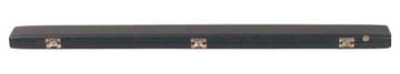 Black Vinyl German bass bow case (B8-G1BB)