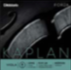 Kaplan Forza Viola D Stranded steel/aluminum wound string